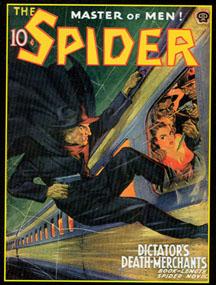 Spider Pulp John Jakes Bruce Timm Graham Nolan Grant Stockbridge